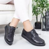 Pantofi dama Darsilo negri casual