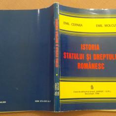 Istoria Statului Si Dreptului Romanesc - Emil Cernea, Emil Molcut, Alta editura, 1998
