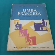 LIMBA FRANCEZĂ* MANUAL PENTRU CLASA A VI-A /MARCEL SARAȘ/1962