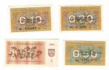 SV * Lituania  LOT  0.10 - 0.20 - 0.50 - 1  TALONAS  1991 / 1992     AUNC+