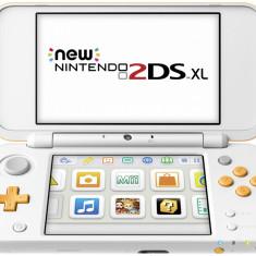 New Nintendo 2DS XL alb portocaliu