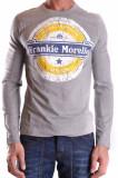 Frankie Morello Pulover barbati 106520 grey, L, S, Frankie Morello