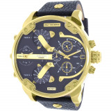 Ceas Diesel barbatesc Mr.Daddy DZ7371 negru Leather Quartz #