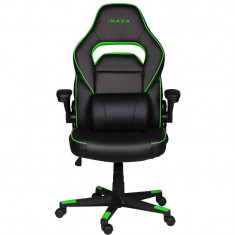Scaun gaming Inaza Interceptor Black / Green