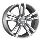 Jante BMW Seria 4 Coupe Staggered 9J x 18 Inch 5X120 et44 - Mak Bimmer Silver - pret / buc, 9, 5