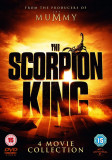 FIlme The Scorpion King 1-4 DVD Complete Collection, Engleza, independent productions