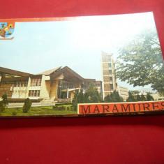 Album de Ilustrate Judet Maramures 1979 , 29 buc + coperta, Necirculata, Fotografie