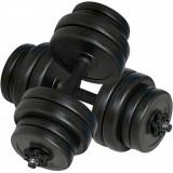 Set gantere 30 kg (2x15 kg)