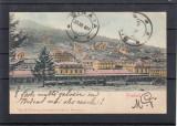 PREDEAL  GARA  TREN  VEDERE  GENERALA  CLASICA  CIRCULATA 1901 UPU, Printata