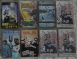 9 buc Hip Hop/rap romanesc,RACLA,BUG Mafia,La Familia,Drepturi egale,Cassa Loco, Casete audio