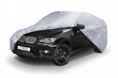 Prelata auto, husa exterioara impermeabila BMW Seria 5 XL-size 530X175X120cm foto