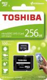 Card memorie Toshiba M203 Micro SDXC 256GB Class 10 UHS-I + Adapter