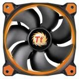 Thermaltake Fan 140mm Riing 14 LED portocaliu