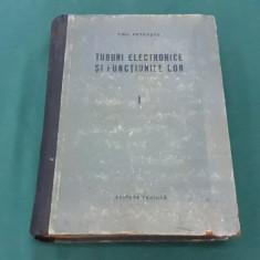 TUBURI ELECTRONICE ȘI FUNCȚIUNILE LOR/ EMIL PETRAȘCU/ VOL. I/1956