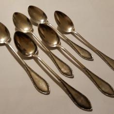 LINGURITE argint Set 6 BUCATI splendide IMPECABILE vechi DANEMARCA splendide