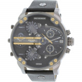 Ceas Diesel barbatesc Mr. Daddy DZ7348 negru Leather Quartz
