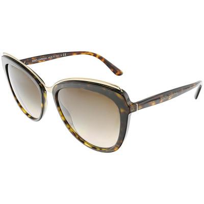 3bd1596933 Ochelari Dolce & Gabbana dama Gradient DG4304-502/13-57 maro Butterfly foto