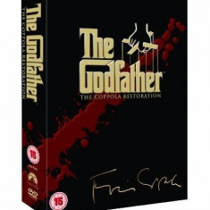 Filme The Godfather Trilogy Aniversary Edition [5 Disc] DVD Box Set, Engleza, independent productions