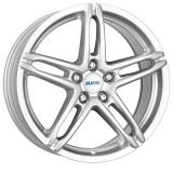 Jante SEAT LEON 7J x 16 Inch 5X100 et38 - Alutec Poison Polar Silber, 7, 5