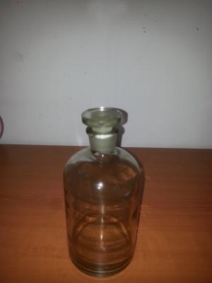 Sticlarie/sticla laborator / borcan farmaceutic 1000 ml foto