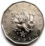 CEHIA, 2 KORUNY 1994 , Monetăria Jablonec nad Nisou - Cehia, Europa
