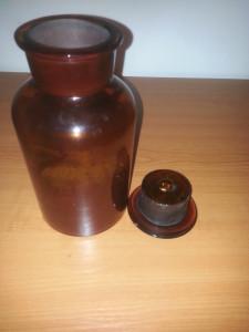 Sticlarie/sticla laborator / borcan farmaceutic 1000 ml