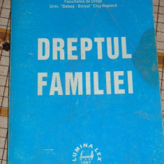 RWX 16 - DREPTUL FAMILIEI - EMESE FLORIAN - EDITAT IN 1997