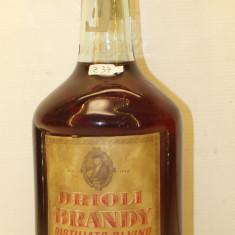 Z 37 - Raritate brandy DRIOLI, distillato di vino, L. 1 gr. 40 ani 50/60