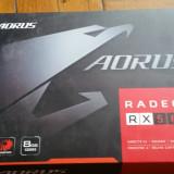 Placa video Gigabyte Aorus Radeon RX 580 8GB GDDR5 256bit