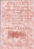 CAROLUS LUNDIUS - ZAMOLXIS PRIMUL LEGIUITOR AL GETILOR