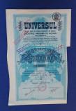 Actiune ziarul Universul - 1921