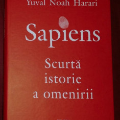 Y. N. Harari - SAPIENS Scurta istorie a omenirii