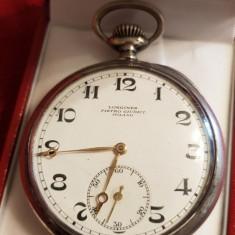 Ceas de buzunat, Longines - Argint