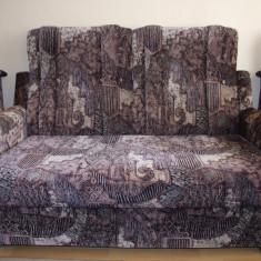 Canapea 2 locuri si 2 fotolii extensibile
