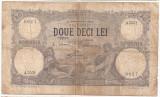 ROMANIA 20 LEI OCTOMBRIE 1924 U