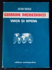 Victor Tufescu - Simion Mehedinți. Viața și opera foto