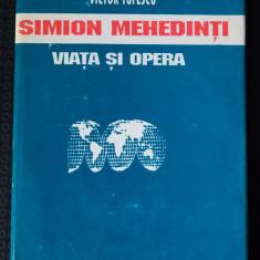 Victor Tufescu - Simion Mehedinți. Viața și opera