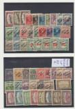 Romania 1919 colectie de timbre locale Timisoara emisiunea Banat Bacska neuzate