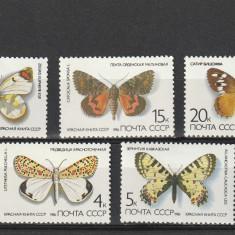 Fauna ,fluturi 1986,URSS.