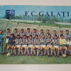 Foto fotbal - echipa FC GALATI