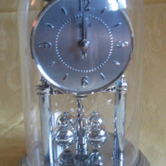 """Ceas pendul de șemineu  """"Hermle""""  - producție Germania, 1985"""