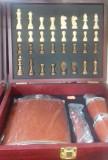Set cadou Caseta cu sah si plosca