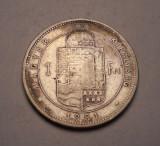 1 Forint 1881, Europa