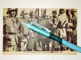 Cumpara ieftin RARA -CARTE POSTALA - MILITARI -GENERALUL GOURAUD TRECE IN REVISTA SOLDATII SAI
