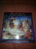 Rasa 4 –Universal Forum+insert-Lotus 1981 Sweden vinil vinyl
