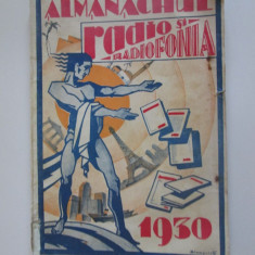 Rar! Almanachul Radio si Radiofonia 1930