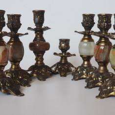 Set sfesnice de bronz