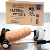 NATURAL POTENT 6 fiole + MARIREA PENISULUI cu aparat POTENTA ERECTII TARI pachet
