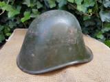 Casca romaneasca, model olandez, WW2