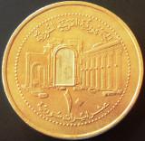 Moneda exotica 10 LIRE / POUNDS 1424- SIRIA, anul 2003   *cod 2430, Asia